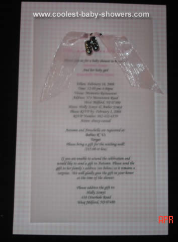 Holly's Baby Shower Theme Party