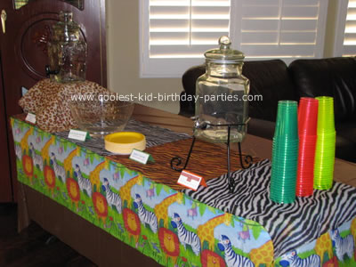 Coolest Jungle Safari Baby Shower