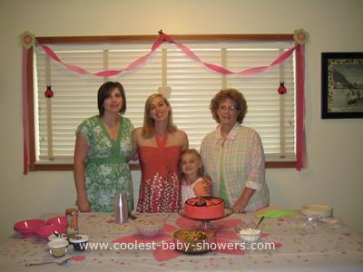 Leah's Ladybug Baby Shower
